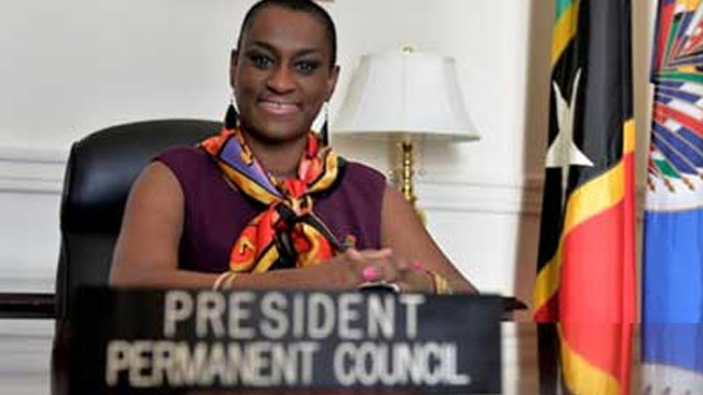 Jacinth-Henry-Martin New Chief of Staff to OAS Secretary-GeneraSt.Kitts-Nevis Ambassador to the USA/Permanent Representative to the OAS, Ambassador to Mexico and Paraguay Her Excellency Jacinth Henry-Martin has been named the new Chief of Staff to OAS Secretary-General Luis Almagro.