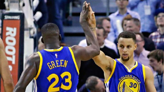 On a night when the Jazz were able to dictate the style, Draymond Green and Stephon Curry combined forces to make the Warriors a perfect 19-0.