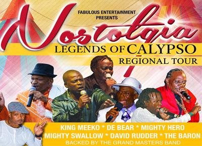Legends of Calypso Tour 2016