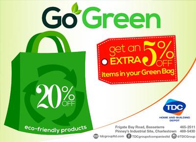 TDC – Go Green