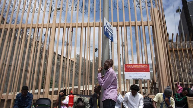 Haitians who arrive at the border without visas will be put into expedited removal proceedings