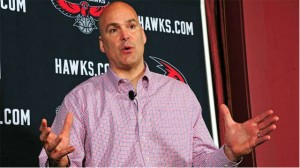 Hawks GM Danny Ferry has been disciplined for making racist comments. Scott Cunningham / NBAE