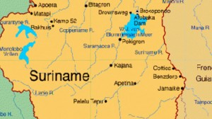 Suriname-Map