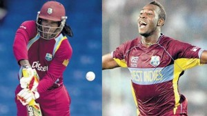 ChrisGayle+Russell