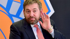 James Dolan tells angry fan to go root for the Nets.