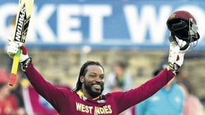 GAYLE... did not train yesterday, but is expected to take the field