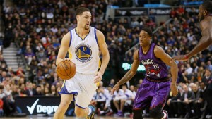 Klay Thompson (11) is averaging a career-best 21.9 points per game while shooting 44 percent from 3-point range.