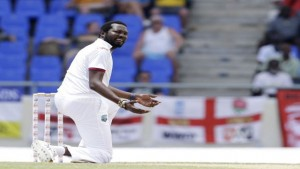 Sulieman Benn (2-200) toiled long and hard against England in the drawn first Test at Antigua. (Photo: Associated Press)