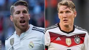 Sergio Ramos & Bastian Schweinsteiger