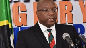 St. Kitts and Nevis' Prime Minister Dr. Timothy Harris