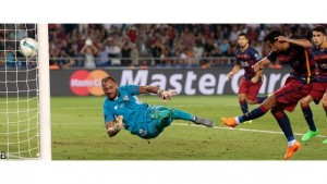 Pedro scored the winner as Barcelona beat Sevilla 5-4 in the Super Cup