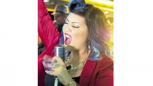 Tessanne Chin in a scene from her latest video Fire, released on Monday
