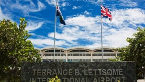 The incident took place at the Terrance B. Lettsome International Airport in Tortola.
