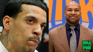 Matt Barnes+Derek Fisher-1