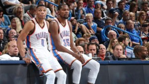 Kevin Durant+Russell Westbrook--1