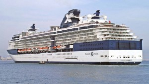 THE TOURISTS HAD ARRIVED IN TORTOLA ON THE CELEBRITY SUMMIT CRUISE SHIP