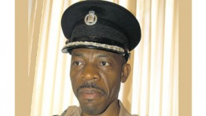 Commissioner of Police Dr Carl Williams