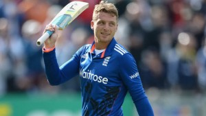 Jos Buttler's 73-ball century was pivotal in England's huge total of 399 for 9 against the visiting South Africans.