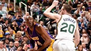 Kobe Bryant will definitely remember his final trip to Salt Lake City.