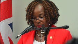 BVI Labour Commissioner Janice Rymer