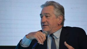 obert De Niro speaking at the Palazzo Versace in Dubai