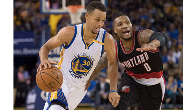 8cb37b542 Warriors fall to Trail Blazers in OT despite late rally after early blunders